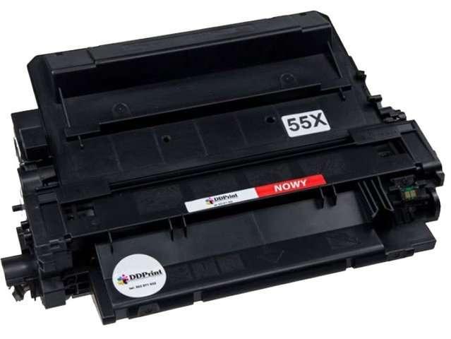 Zgodny z hp 55X CE255X Toner do HP LaserJet P3015 M521 M525 12,5k Nowy DD-Print DD-H55XN