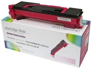 Toner Cartridge Web Magenta Kyocera TK540/TK542 zamiennik TK-540M