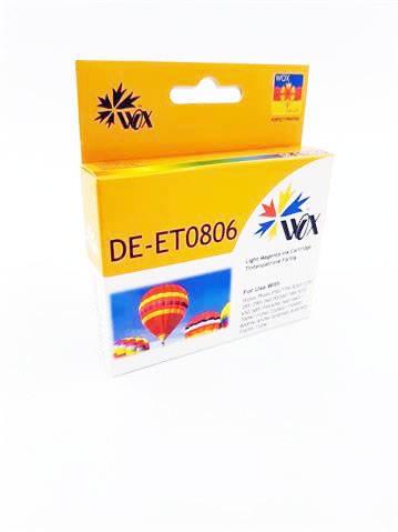 Tusz Wox Light Magenta EPSON T0806 zamiennik C13T08064010