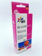 Tusz Wox Magenta CANON CLI 551M z chipem zamiennik CLI551M