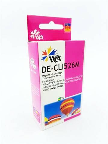 Tusz Wox Magenta Canon CLI 526M zamiennik CLI526M