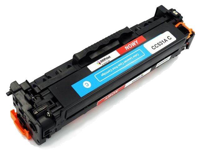 Zgodny z CC531A toner do HP CP2025 CM2320 Cyan 2,8K DD-Print DD-H531ACN