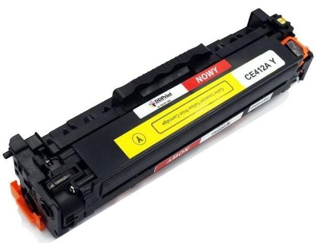 Zgodny z CE412A toner do HP LaserJet M351 M375 M451 M475 Yellow 2,6K DD-Print DD-H412AYN